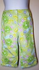 Lilly Pulitzer Girl's cropped lime pants size 6