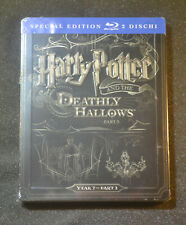 EU Import New+Sealed Steelbook Harry Potter and the Deathly Hallows (2) Blu ray