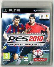 JEU PS3 ★ PES 2010 PRO EVOLUTION SOCCER ★ COMPLET ★ SONY PLAYSTATION 3