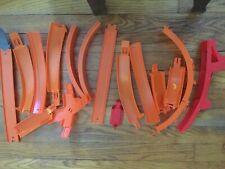Assortment Hot Wheels Tracks 16 Pieces Misc.
