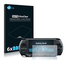 6x Displayschutzfolie Sony PSP Street E1004 Schutzfolie Klar Folie Displayfolie