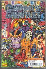 PRIMO:  THANOS Infinity Gauntlet tpb Starlin Avengers Marvel movie comics lot