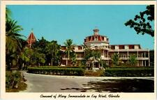 KEY WEST, Florida  FL    CONVENT of MARY IMMACULATE  ca 1960s Postcard