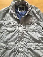 New Hackett London Albermale Field Jkt Jacket size X-Large in 945 Grey