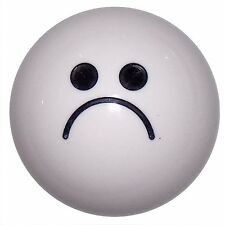 Sad Face White shift knob M10x1.50 th U.S MADE