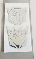 3D Autobot Transformers Decepticon Decal Car Sticker Car Decoration PVC Durable