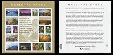 US 5080 National Parks forever sheet MNH 2016