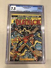 ASTONISHING TALES #25 CGC 7.5 1ST DEATHLOK GEORGE PEREZ Marvel Comics Unpressed