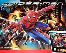 "Spiderman Marvel Comics Pinball POSTER 33"" Super Heroes Venom Artwork German"