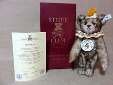 Steiff Teddy Clown 1928 Club Year 1993/94 Bear In Box And Shipper