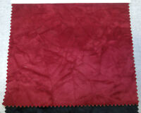 crushed velvet upholstery fabric color wine by the yard 54 wide. quality fabric