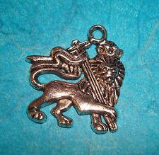 Heraldry Charm Coat of Arms Pendant Charm Lion Charm Family Crest Symbol Charm