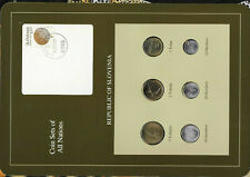 Coin Sets of All Nations Slovenia 1992 -1993 UNC 5,1 Tolar & 10,20 Stotinov 1992