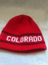 Colorado Beenie Red Winter Cap Hat