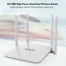 Wavlink AC1200 High Power Dual Band 2.4G/5GHz WIFI Router/AP/WISP,4 x LAN Ports