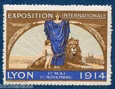 Vignette d'exposition de Lyon 1914 du 1er mai au 1er novembre = 100 ans