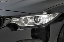 CSR Scheinwerferblenden für BMW F32 F33 F36 4er ab 2013- Böser Blick Blenden Set
