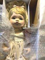 Heritage Dolls Jessica Porcelain Doll By Connie Walser Derek 1990 new in box