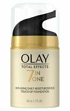 Cc Crema De, Total Effects Daily Moisturizer + Touch Of Foundation, 50 Ml