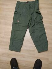 Fjallraven Greenland. Lined winter Trousers. Green. Size 54.