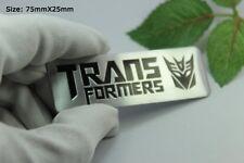 D695 Transformers Decepticon Auto 3D Emblem Badge Aufkleber PKW KFZ Car Sticker