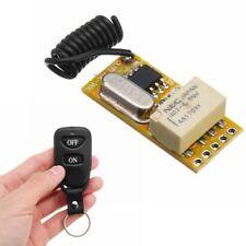 DC 3.7V-12V Mini Wireless Remote Control Switch Relay Micro Receiver