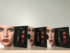 SET Of 3 Tom Ford The Perfect Accessory Lip Card 3 Shade New Sample #04 ,09, 16