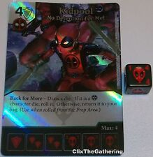 Foil KIDPOOL: NO DETENTION FOR ME! 59 Deadpool Dice Masters