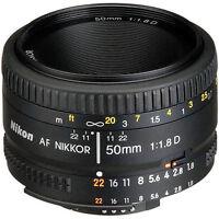 Nikon Normal AF Nikkor 50mm f/1.8D Autofocus Lens
