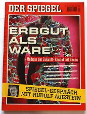 DER SPIEGEL 1993   Nr. 44   01.11.   Medizin - Erbgut als Ware   Z1-