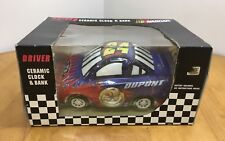 Driver Ceramic Clock & Bank 2004 Officially Licensed By NASCAR - Jeff Gordon #24