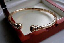 9ct Gold Armband Armreif GF Billigste auf Ebay! fast AUSVERKAUFT 42s