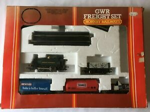Vintage Hornby GWR Freight Set R535 - Boxed