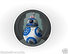 Star Wars The Force Awakens BB8 THumbs Up R2D2 Sticker decal car laptop