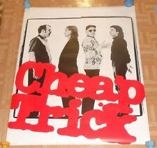 Cheap Trick Original 1982 Large Poster RARE 36x45