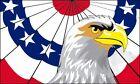Patriotic Bald Eagle Flag 3x5 ft United States US USA American Banner