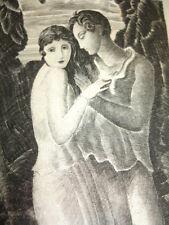 GRAZIELLA  Lamartine EO Gravures originales au Burin par Gandon