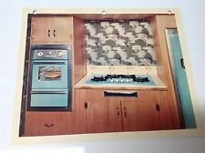 VINTAGE STOVE PARTS Wedgewood Appliance Company 1957 Built In Oven Cooktop Photo