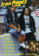 Iron Pages Nr.25 - 6/1993,Sepultura,Grave Digger,Voi Vod,Battlefield,Angel Witch