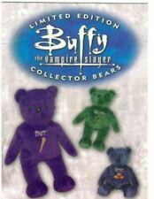 Buffy TVS Season 4 BB-1 Promo Buffy Collector Bears