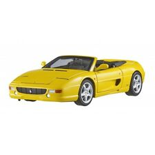 FERRARI F355 SPIDER CONVERTIBLE ELITE YELLOW 1/18 DIECAST MODEL HOTWHEELS BLY35