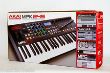 Akai MPK249 49-Key USB MIDI Keyboard & Pad Controller NEW