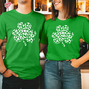 St Patricks Day T shirt Happy St Patricks Day Tshirt CLOVER CAMO 261