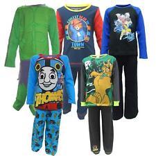 Childrens oficial de marque Qualité Coton Pyjamas À Manches Longues Top & Pantalon