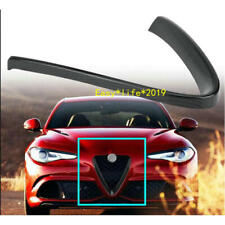 Carbon Fiber Front Lower Grille Frame Cover trim For Alfa Romeo Giulia 2016-2018