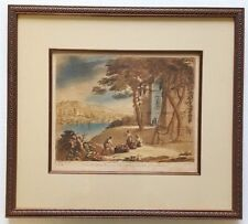 No. 58 Mezzotint ART PRINT R. Earlom After CLAUDE LORRAIN John Boydell Engraver