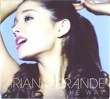 +POSTER------  ARIANA GRANDE The Way (feat. Mac Miller) 2-Track CD SINGLE