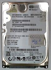 "120 GB SATA WD WD 1200 BEVS - 22rst0 2.5"" disco duro"