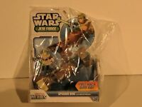 Hasbro Playskool Star Wars Jedi Force Speeder Bike & Luke Skywalker Ages 3-6