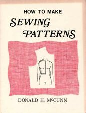 How to Make Sewing Patterns BOOK Sew Clothes Clothing